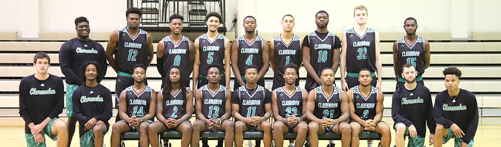 Clarendon College 2018-2019 Men