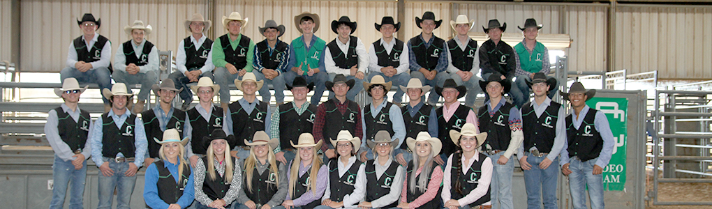 clarendon college rodeo team 2017-18