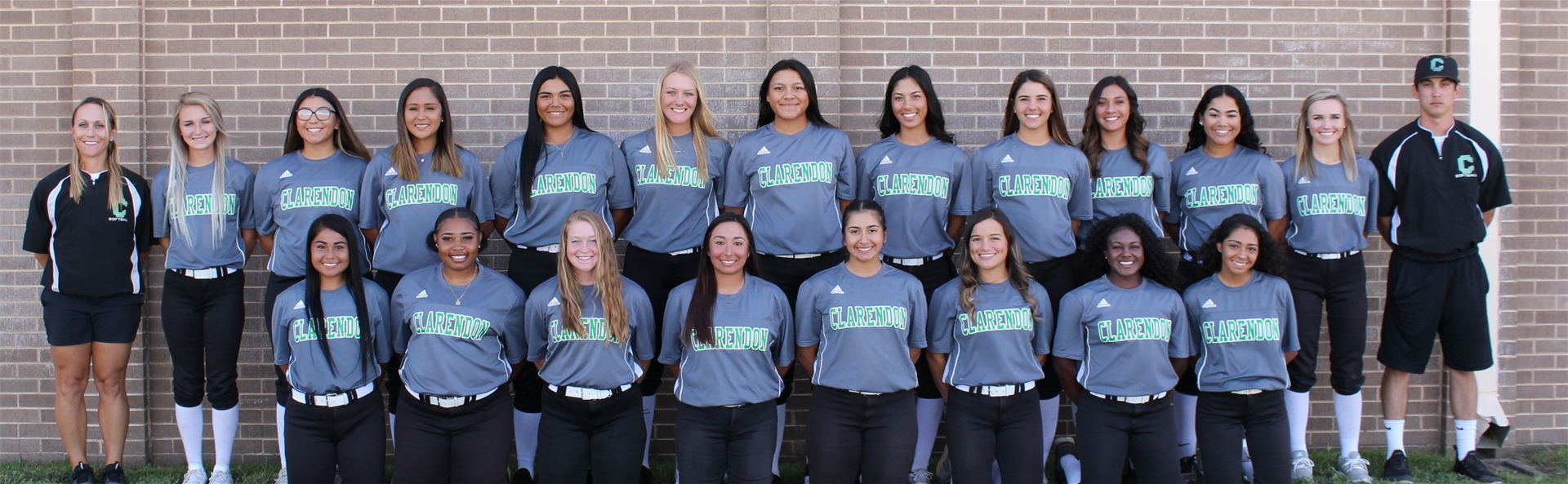 Clarendon College 2019-2020 Softball team