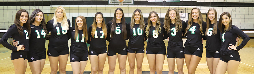2018-19 Clarendon College Volleyball Team