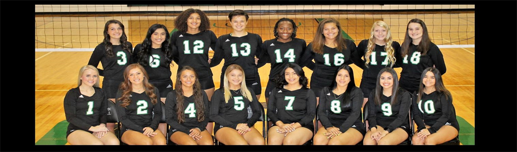 Clarendon College 2019-2020 volleyball team