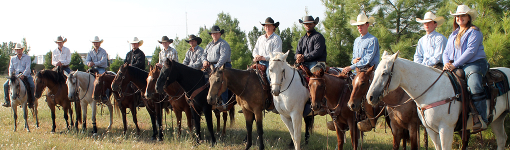 Clarendon College Ranch Horse Team